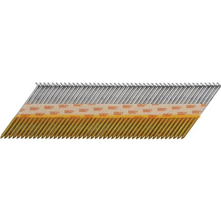 SENCO FASTENING SYSTEMS Framing Nails Bright Finish 2 3 8 x 113 In 250