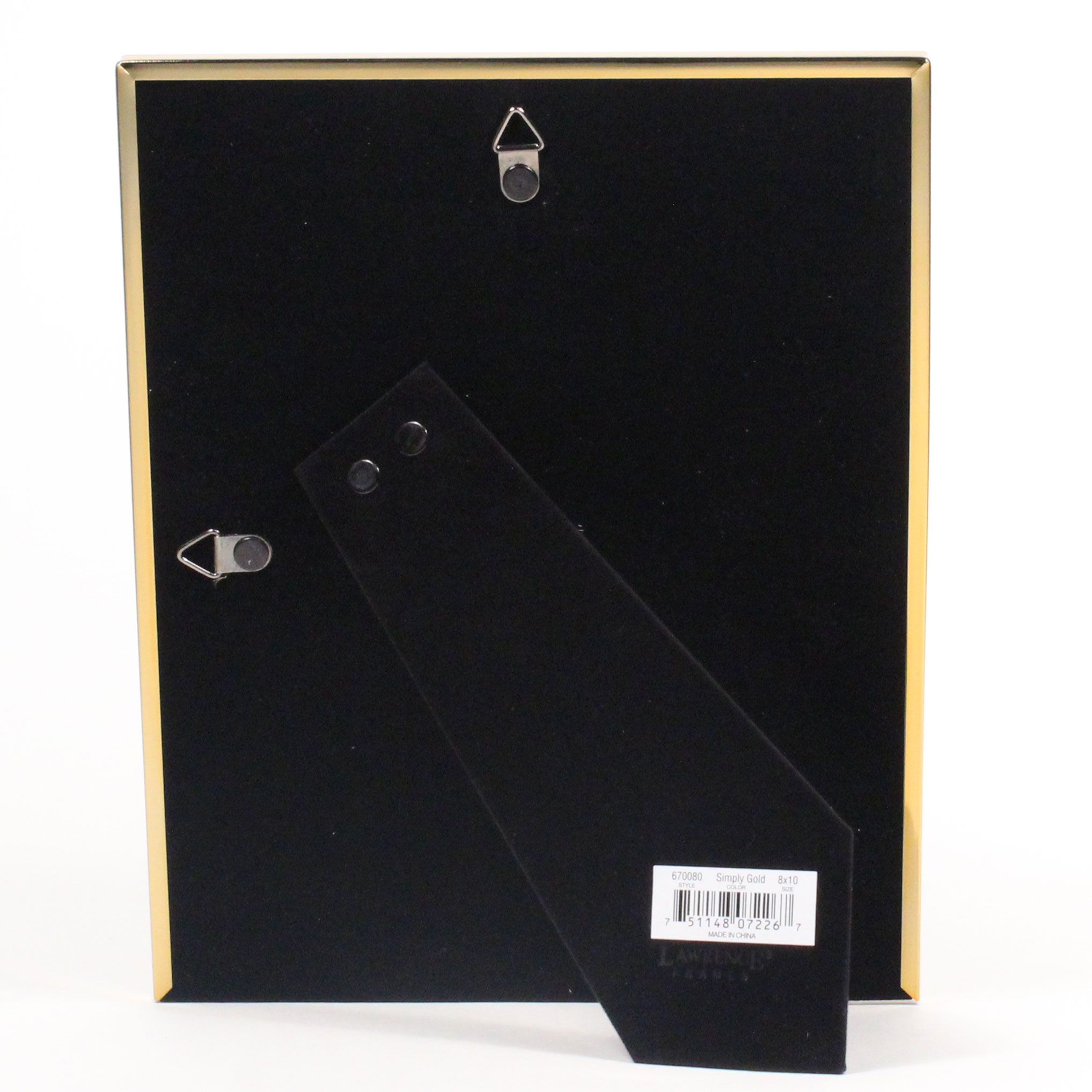 Lawrence Frames 8x10 Simply Gold Metal Picture Frame 670080 Unique