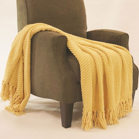 BOON Tweed Knitted Throw Blanket - Walmart.com