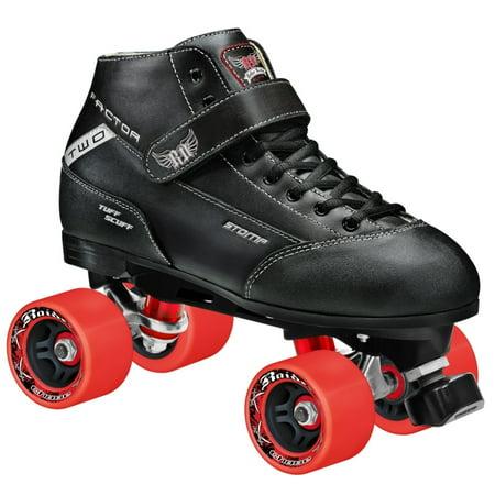 Halloween Roller Derby Girl (Roller Derby Elite Quad Roller Skates - Stomp Factor 2 with RTX)