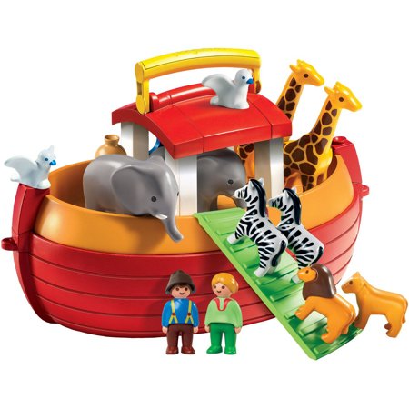 PLAYMOBIL My Take Along Noah's Ark 1.2.3