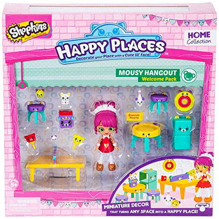 - Happy Places Shopkins Season 2 Welcome Pack Mousy Hangout