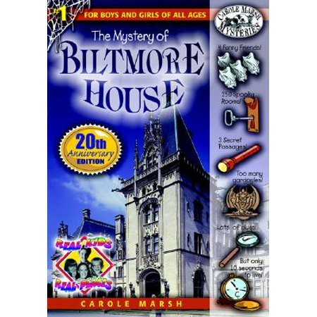 Real Kids! Real Places! (Paperback): The Mystery of the Biltmore House (Paperback) - Kid Mystery Books
