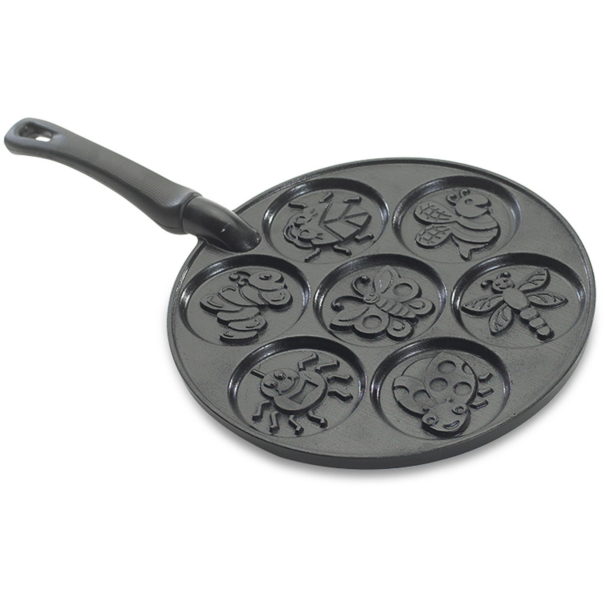 Nordic Ware Bug Pancake Pan, Black