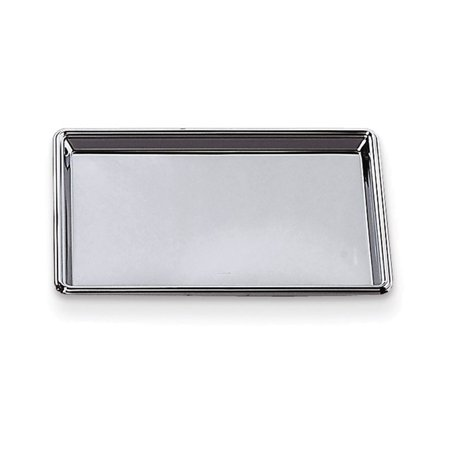 Nickel-plated 12x8 Rectangular Tray ()