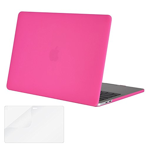 snap Connection Flat A Protective Cover for Apple Notebook Computer Model 13 inch A1706//A1708//A1989//A2159 Double Corner Bezel ,13 inch A1708 Access to All Ports.