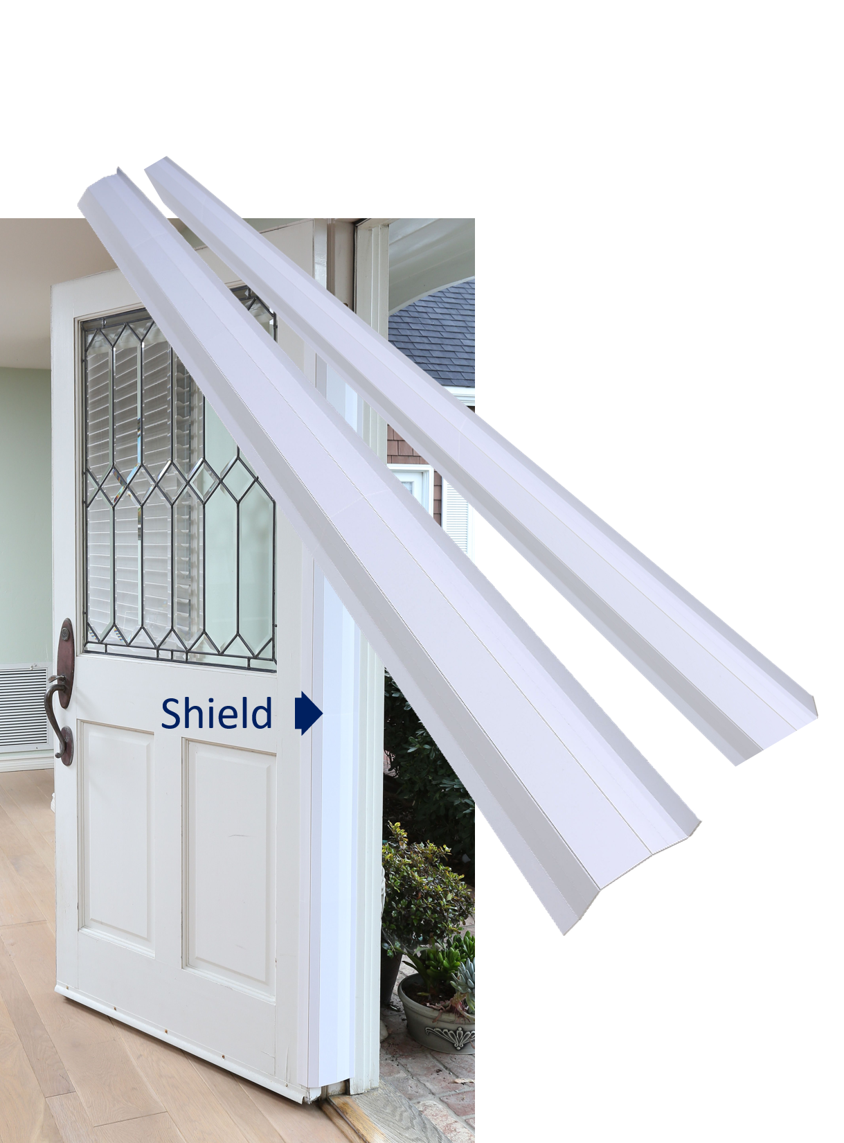 PinchNot Home Shield for 180 Degree Doors, Set, Guard for Door Finger Child Safety by Pinch-Not