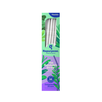 Repurpose - Compostable Straws Made with Plants - 50 Count