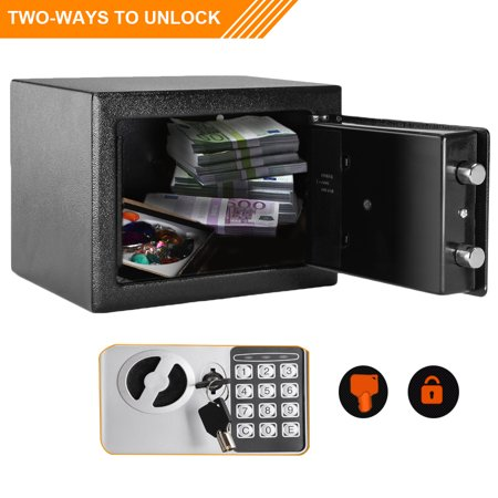 Zimtown Electronic Digital Safe Box Keypad Lock Security Home Office Cash Jewelry Gun (Electronic Safe Magnet)