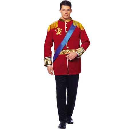 Mens Classic Prince Charming Cinderella Halloween Costume Adult Xl](Disney Prince Charming Halloween Costume)