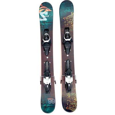 Summit Ecstatic 99cm Skiboards Snowblades with Atomic L10 Release Ski Bindings (Atomic Smoke Skis With Xto 10 Bindings)