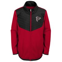 Youth Red/Black Atlanta Falcons Polar Full-Zip Jacket