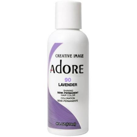 Creative Images Systems Adore Semi-Permanent Haircolor, [090] Lavender 4 - Lavender Cover