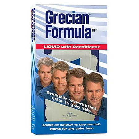 4 Pack Grecian Formula Liquid with Conditioner, 4 Ounce - Grecian Armor
