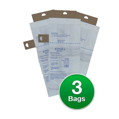 Replacement Vacuum Bag for Eureka 61515B / 2270 Upright  / Style J (Single Pack)