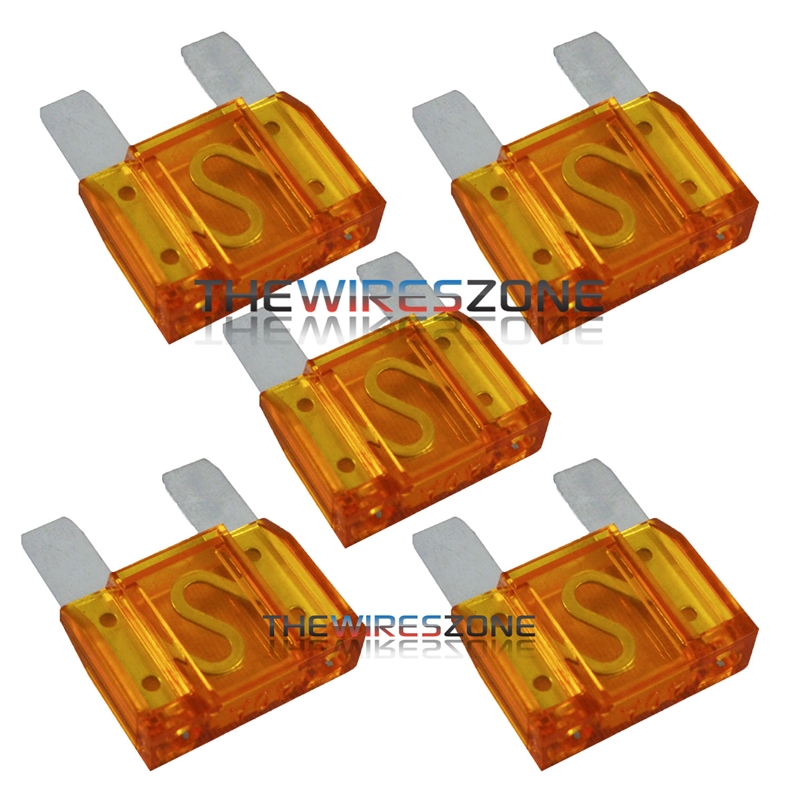 25 pack 40 Amp ATC Fuse Blade Style  40A Automotive Car Truck