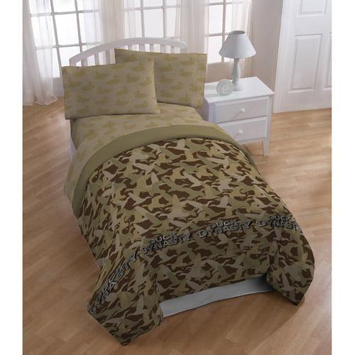 Duck Dynasty Tan Camo Bedding Comforter