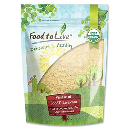 Organic KAMUT Khorasan Wheat Flour, 1 Pound - Stone Ground Powder, 100% Whole Grain Meal, Non-GMO, Bulk - by Food to (Difference Between Whole Wheat Flour And White Flour)