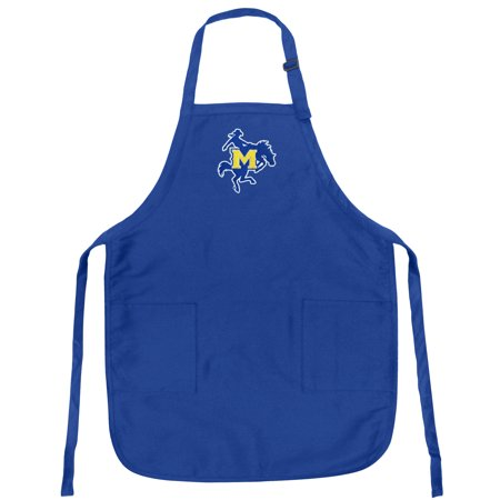 McNeese State University Logo Apron Mens or Womens for Grilling Barbecue Kitchen Tailgating OFFICIAL McNeese State Cowboys Aprons Famous Broad Bay - Oklahoma State Cowboys Barbecue Grill