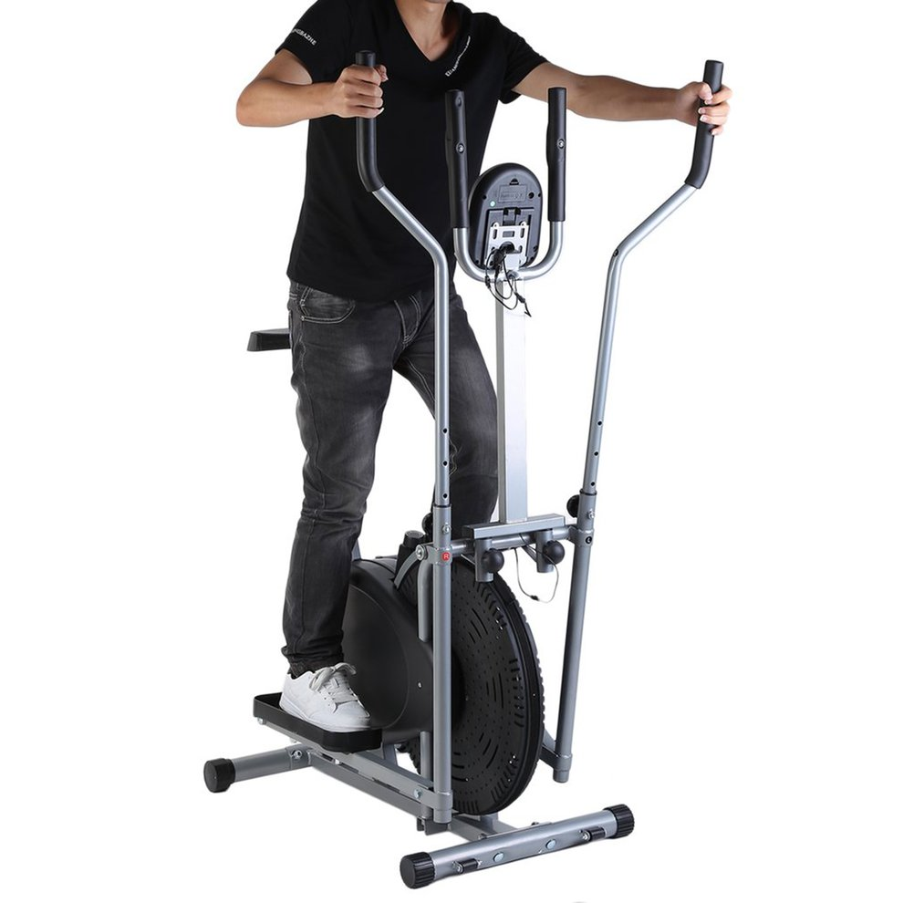 Home Elliptical Bike 2 In 1 Cross Workout Trainer Exercis...