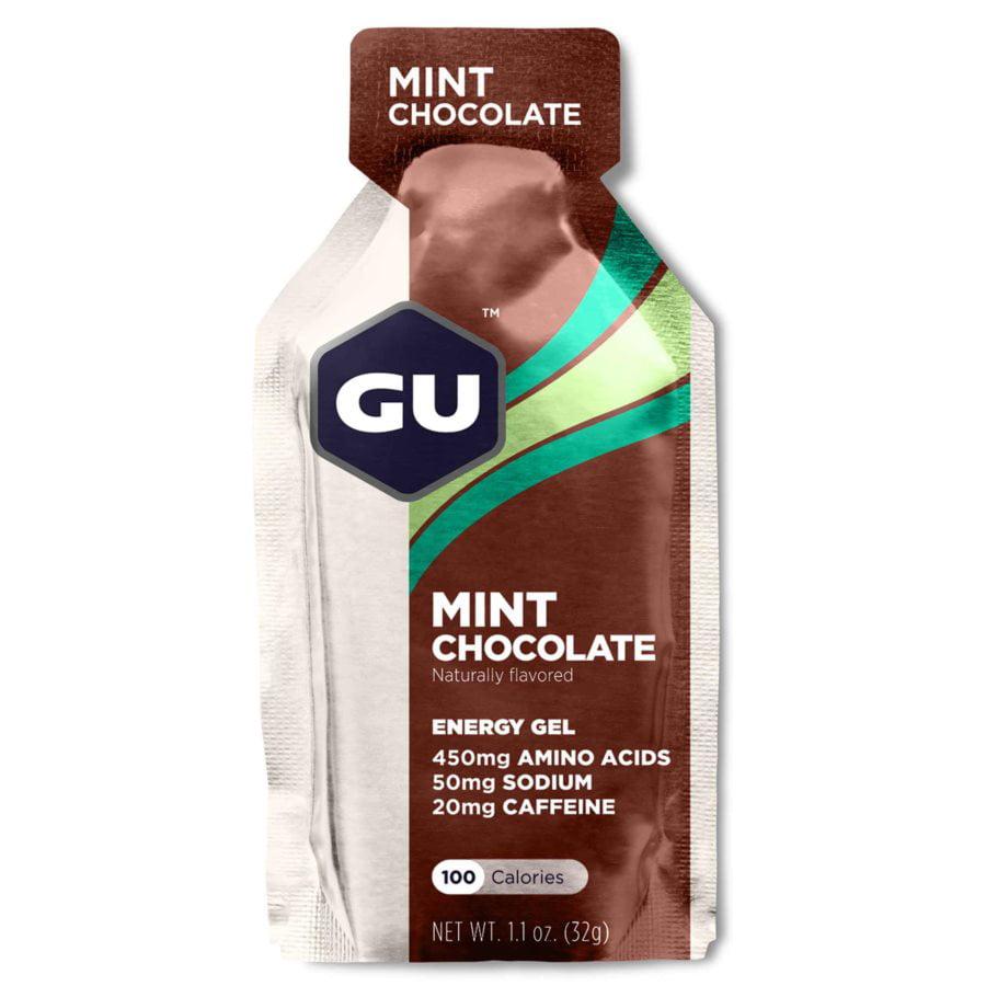 GU Energy Gel: Mint Chocolate~ 24-Pack