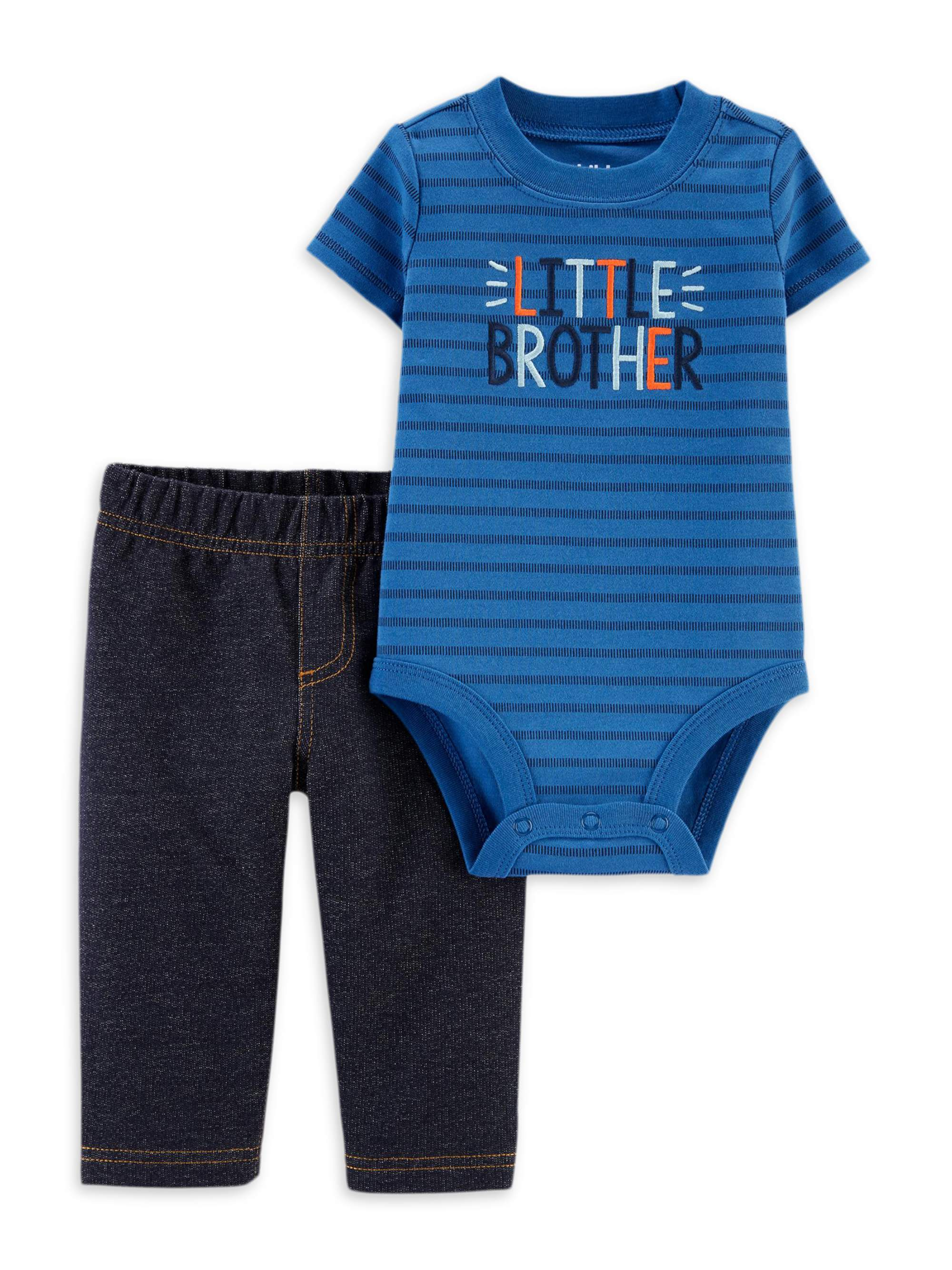 Got A Big Bro...Baby Bodysuit//Romper//T-Shirt /& Feeding Bib NB-24m Boy Girl Funny