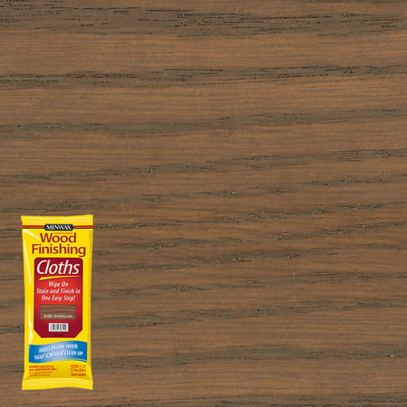 Minwax® Wood Finishing Cloths Dark Mahogany, 8-Cloths