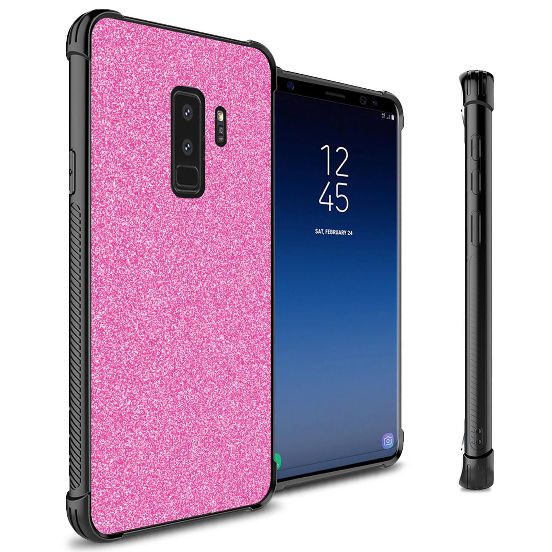 CoverON Samsung Galaxy S9 Plus Case, Glimmer Series Cute Glitter Bling Hard Phone Cover