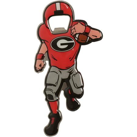 Georgia Bulldogs Full Player Bottle Opener Metal Magnet - No (Georgia Bulldogs Bottle Opener)