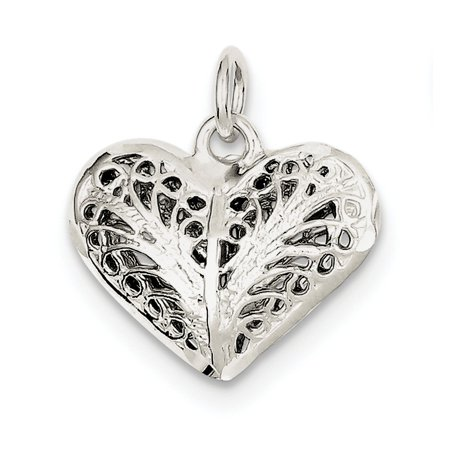925 sterling silver filigree heart pendant walmart 925 sterling silver filigree heart pendant aloadofball Image collections
