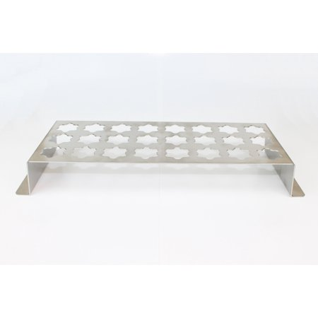 Jalapeno Popper Stainless Steel Grill Rack, 24-Hole