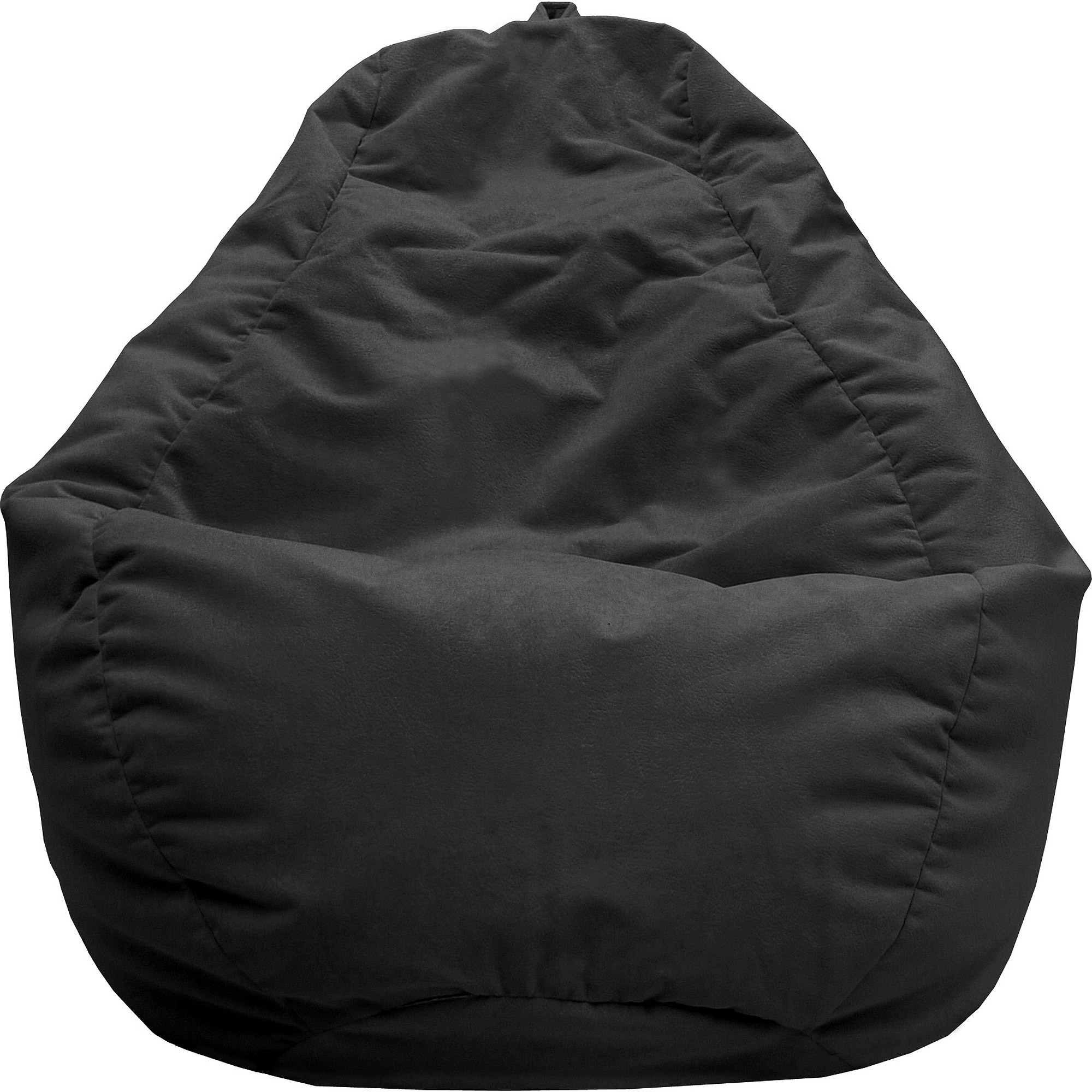 Large Tear Drop Fairview Microfiber Suede Bean Bag