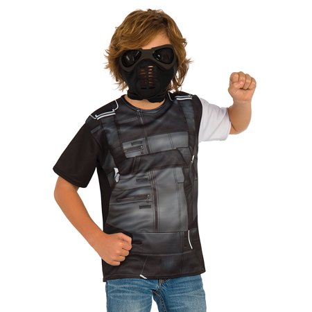 Rubie's Costume Captain America: Civil War Winter Soldier Child Top and Mask,... - Captain America Winter Soldier Costume For Sale