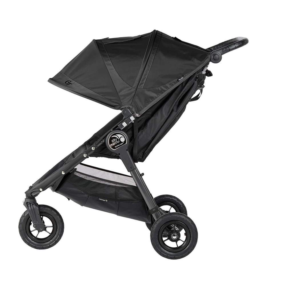 Baby Jogger City Mini GT Double Stroller - Black w/ Black ...