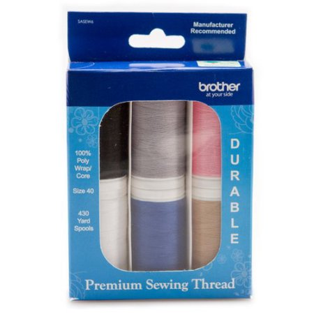 Brother Sewing Thread Spools, 6 Count
