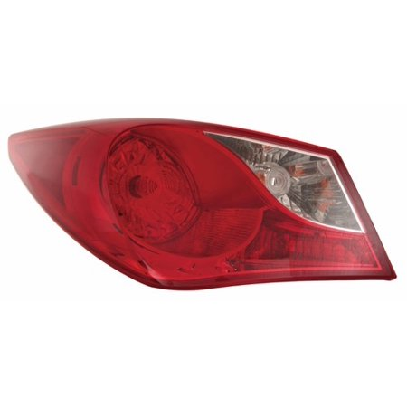 Go-Parts » 2011 - 2014 Hyundai Sonata Rear Tail Light Lamp Assembly / Lens / Cover - Left (Driver) Side Outer 92401-3Q000 HY2804116 Replacement For Hyundai (Hyundai Sonata Car Driver)