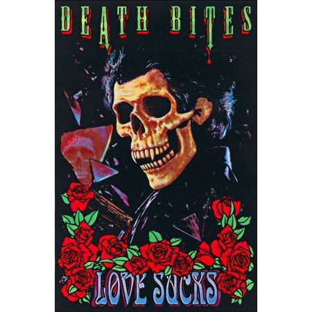 Death Bites Love Sucks Blacklight Poster 23 x 35in   , By SCORPIO POSTER  INC Ship from US