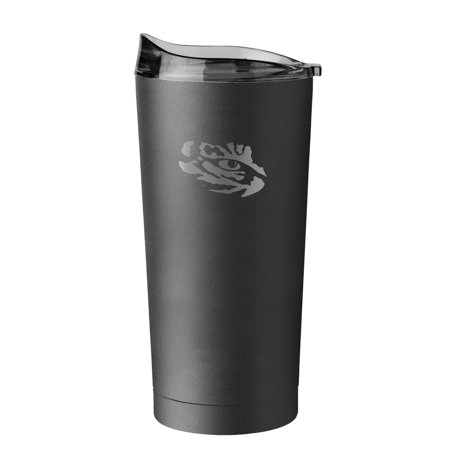 Louisiana State University LSU Tigers Logo Ultra Tumbler, Powder Coated, Insulated, with High Lip Slider Lid