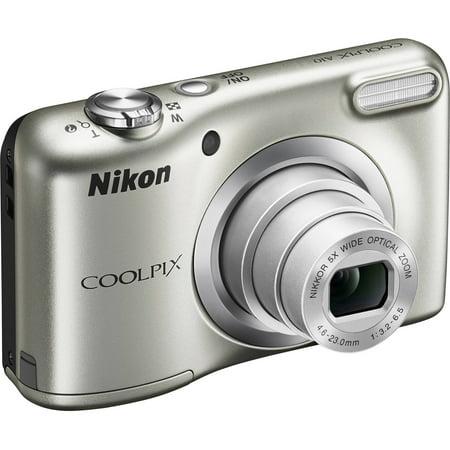 Nikon COOLPIX A10 Digital Camera with 16.1 Megapixels and 5x Optical Zoom
