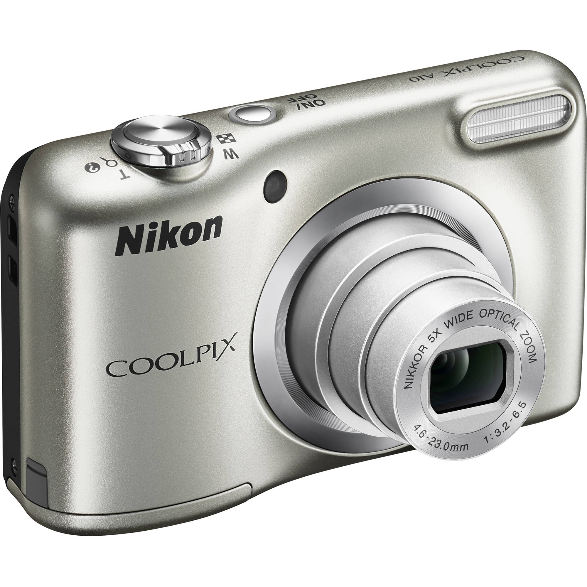 Nikon COOLPIX A10 Digital Camera with 16.1 Megapixels and 5x Optical Zoom