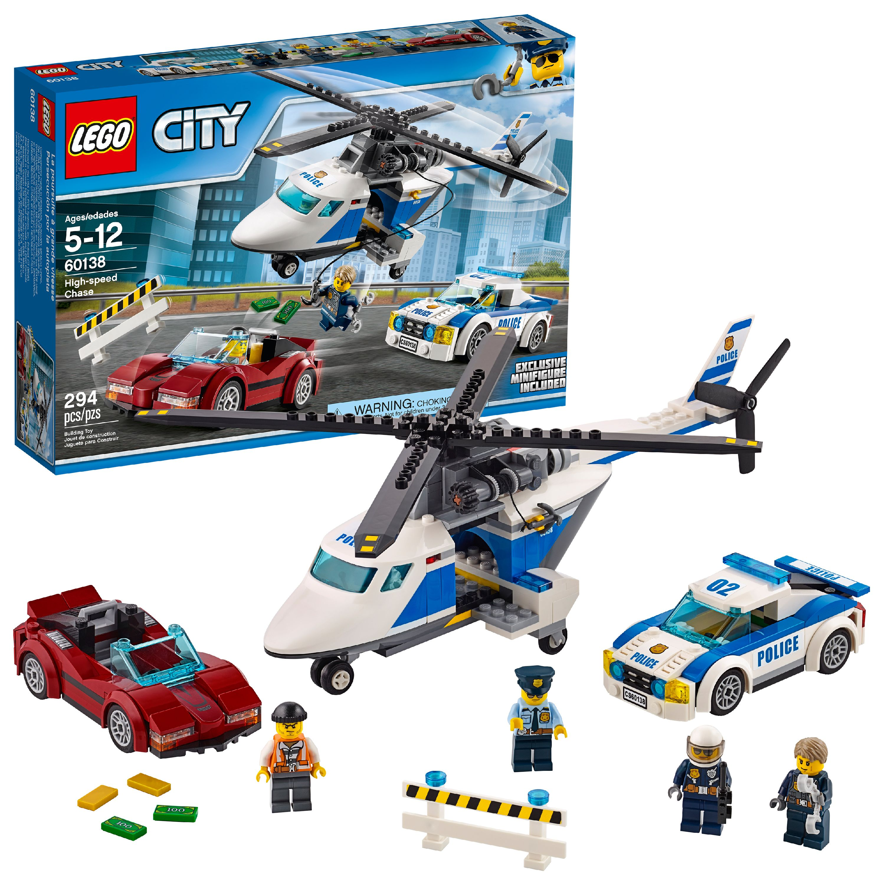 LEGO City Police High-speed Ch...