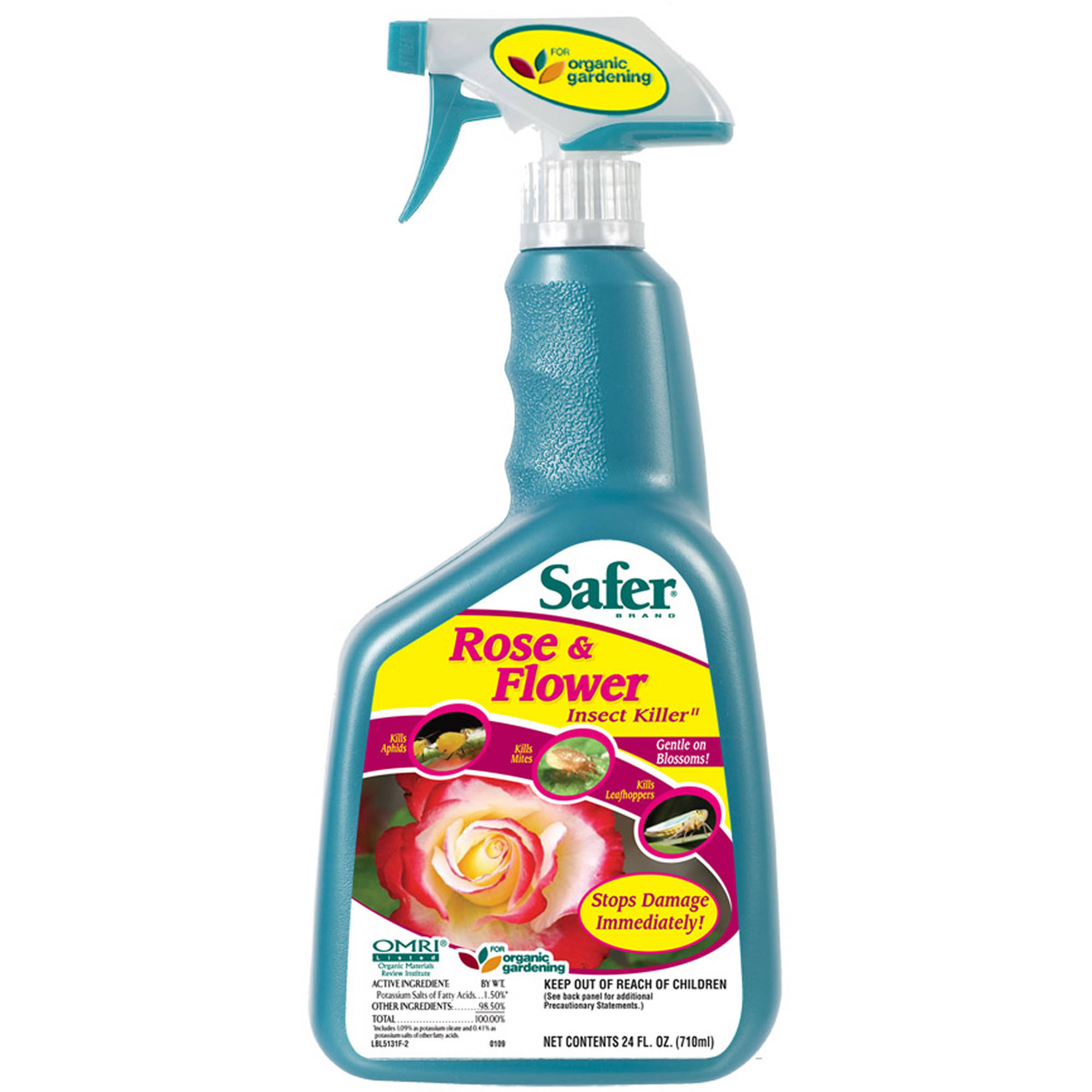 Safer Brand 32 fl oz Ready-To-Use Rose and Flower Insect Killer