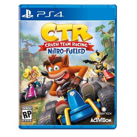 CTR - Crash Team Racing: Nitro Fueled, Activision, PlayStation 4, (Crash Bandicoot Tag Team Racing)