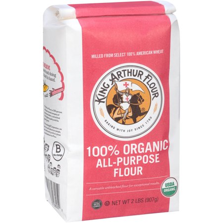 King Arthur Flour Organic Whole Wheat Flour, 5 lb (Pack of 6) King Arthur Flour Organic Whole Wheat Flour, 5 lb (Pack of 6) new picture