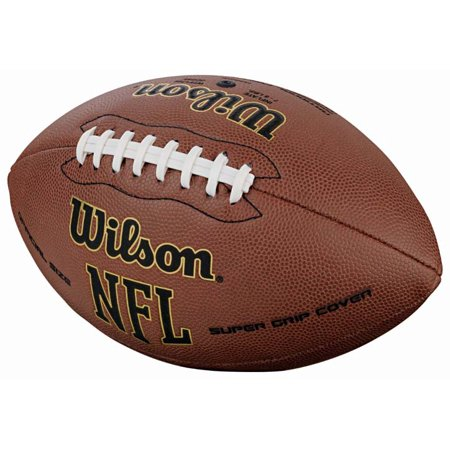 Wilson NFL Super Grip Composite Leather Game Football In Multiple Sizes