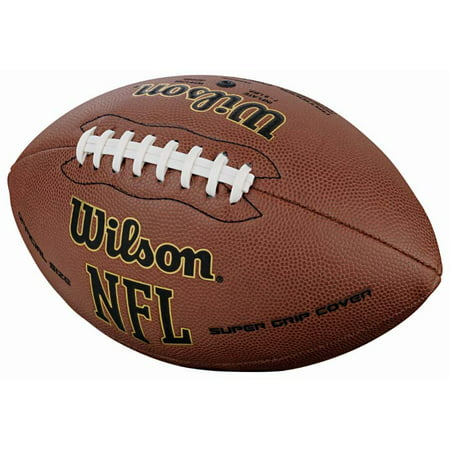 - Wilson NFL Super Grip Composite Leather Game Football In Multiple Sizes