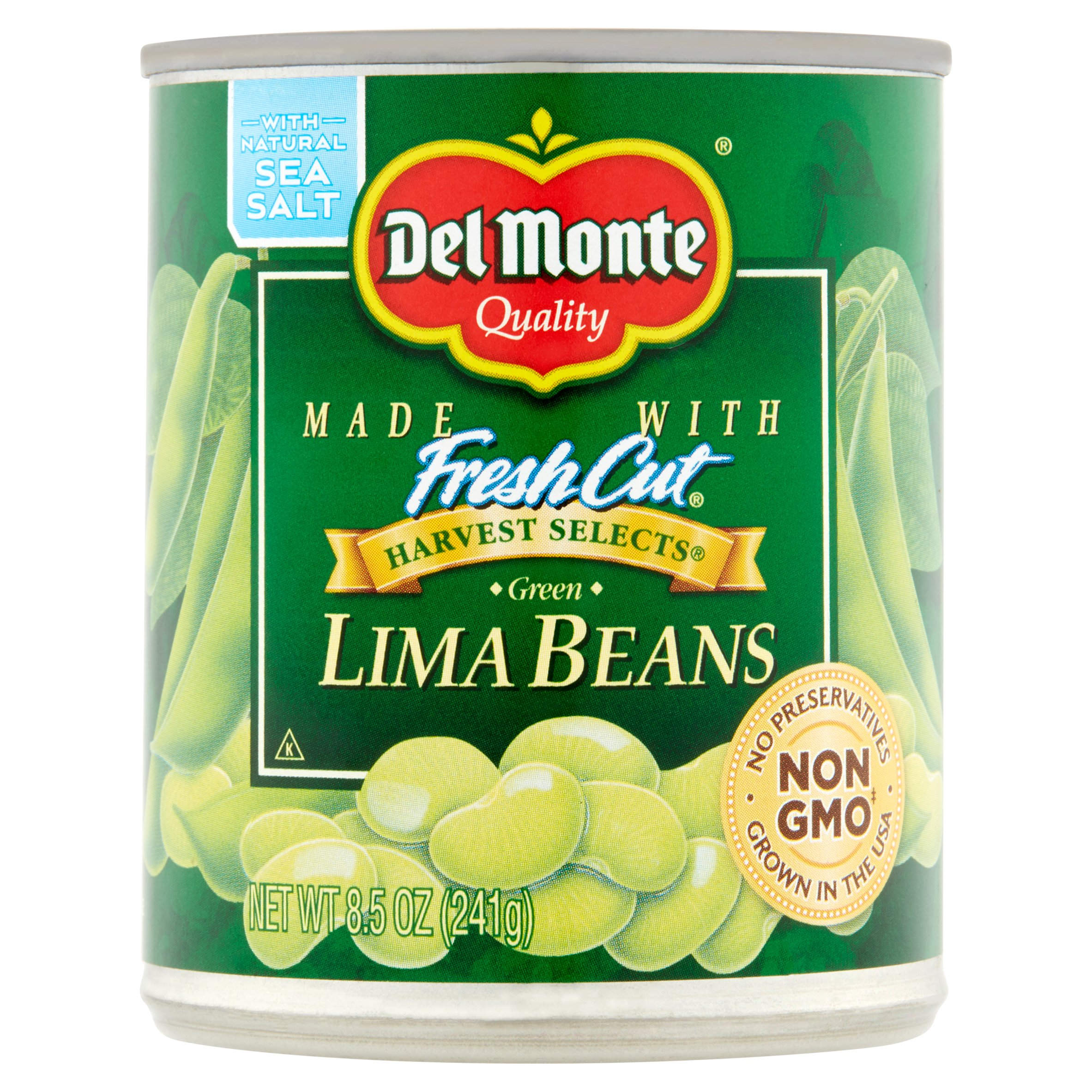 Del Monte Fresh Cut Harvest Selects Green Lima Beans, 8.5 oz