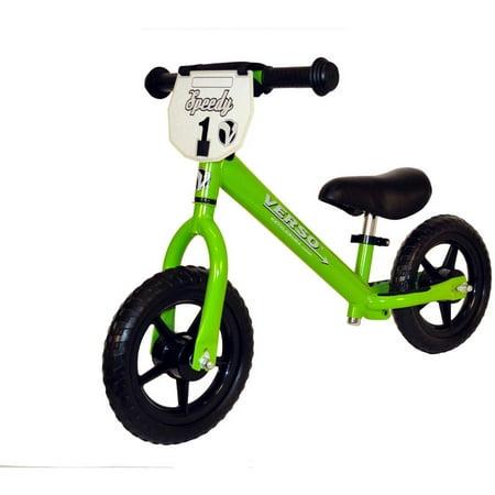 """Verso 10"""" Green Speedy Balance Bike"""