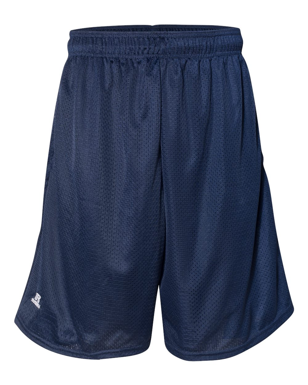 """Russell Athletic Men's 9"""" Polyester Tricot Mesh Pocketed Shorts, Style 651AFM"""