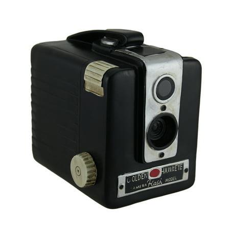 Retro Brownie Hawkeye Vintage Style Camera Coin